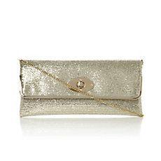 BOSTONS - Glitter Evening Clutch Bag