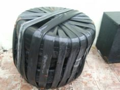 Picture of Recycled Car tire and bike inner tube Chair