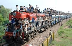 India's Rail System, via BBC http://www.bbc.com/news/world-asia-india-28156439