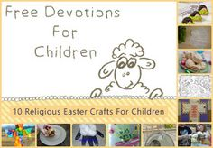 Jesus Loves Me   Daily Devotions for Preschoolers: 10 Religious Easter Activities For Children
