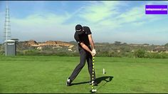 The best golf swing slow motion - online golf lesson