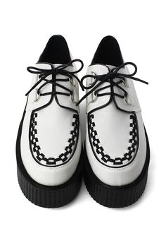 Creeper Platforms Shoes in White - Goods - Retro, Indie and Unique Fashion