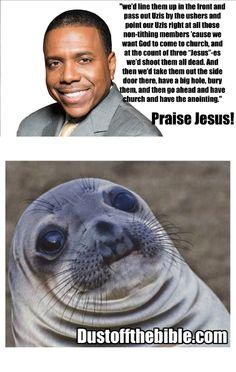 Awkward creflo dollar meme  #christian #memes