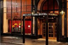 Image result for the bryant park hotel image
