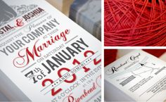 Wedding Invitations on Behance
