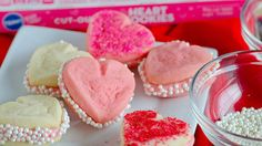 Pillsbury™ Ready to Bake!™ refrigerated cut-out heart cookies make these 3-ingredient sandwich cookies the easiest-ever Valentine's Day treat.