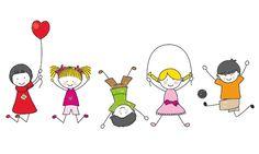 Illustration about Happy kids playing. illustration with white background. Illustration of children, boys, illustration - 22334823