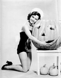 Debbie Reynolds for Halloween, 1953.