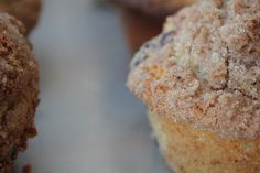 Fruit Muffins with Streusel Topping
