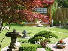 Stunning Anese Garden Patio Ideas Bonsai Trees Stone Path Deco Zen Meditation