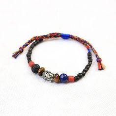 NEW • READY STOCK • NIRWANA BRACELET • material : * Buddha head charm * Tiger eye stone * Lapiz lazuli stone * Lava stone * Glass beads * Thread • SHOP : WWW.LABDAGATIC.COM • CS : LINE : LABDAGATIC WHATSAPP : 088805534461 • #labdagatic #handmade #jewelry #accessories #popethnic #jualgelang #lapizlazuli #tigereyestone #lavastone #buddha #yogajewelry #Indonesia #localbrand #supportlocal #malang #talisman #amulet #beachjewelry #bohojewelry #bohemian #bohojewelry #hippies