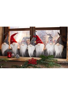 Валик для двери «Гномики» серый/красный/белый - Для дома - bonprix.ru: