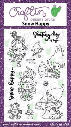 Snow Happy|Stamp Set|Craftin Desert Divas