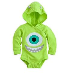 c25c9fb2af8 Disney Store Monsters inc Mike Eye Ball Baby Costume Outfit 0-3 9-12 Month  NEW