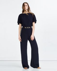 Image 1 of BELTED JUMPSUIT from Zara