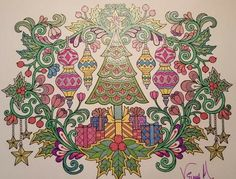 ColorIt Free Coloring Pages Colorist: Vilma Ruth Melendez #adultcoloring #coloringforadults #adultcoloringpages #12FreeChristmasPages