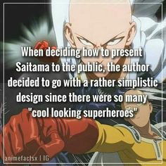 I think he's one of the coolest looking heroes xD Like. you would definitely recognize his silhouette Psycho 100, Mob Psycho, Anime Nerd, Otaku Anime, Gorillaz, Caped Baldy, One Punch Man Anime, Akame Ga, Nerd Geek