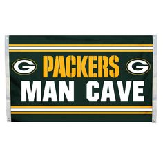 Green Bay Packers 3'x5' Man Cave Design Flag Z157-2324595516