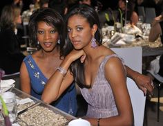 """Alfre Woodard became a proud mother when her daughter, Mavis Spencer, won the 2010 Miss Golden Globe title. Spencer is also a champion equestrian. """"Even when she was a little girl, I never got nervous when she'd do five-foot jumps, because it was a God thing,"""" says the Emmy Award-winning actress. """"I feel like the Creator speaks when I'm watching her,"""" Woodard told Essence magazine. (Stefanie Keenan/WireImage)"""