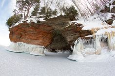 Apostle Islands Prepares For Opening Of Ice Caves | Wisconsin Public Radio