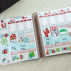 """""""Just posted a long and rambly plan with me on this spread on my planner channel! Check it out! www.youtube.com/glamplanner <3"""""""