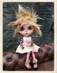 Ooak Custom Blythe Artist Doll por LesTizOrphelinByAlsw en Etsy