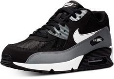 Nike Men Air Max 90 Essential Casual Sneakers from Finish Line Tenis Casual, Casual Sneakers, Air Max Sneakers, Sneakers Fashion, Sneakers Nike, Fresh Shoes, Hot Shoes, Men's Shoes, Shoe Boots