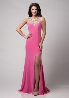 Chiffon Sheath Column Evening/Prom Dress
