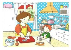 """Created by Brian Basset, """"Red and Rover"""" is about a young boy and his dog growing up together in a simpler time. Oral Motor Activities, Activities For Kids, Speech Language Therapy, Speech And Language, Education English, Teaching English, Picture Comprehension, Sequencing Pictures, Picture Composition"""