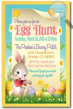 35 Best Easter Party Invitation Images In 2017 Easter Eggs Easter