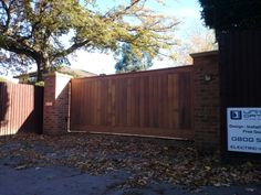 Case study for a recent timber electric gates installation in Windsor, Berkshire by Renzland Gates Timber Gates, Wooden Gates, Garden Gates And Fencing, Fence, Electric Gates, Windsor, Bespoke, Garage Doors, Outdoor Decor