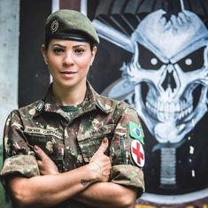 Military Branches, Military Insignia, Army Uniform, Military Women, Female Soldier, Perfect Body, Amazing Women, My Girl, Fit Women