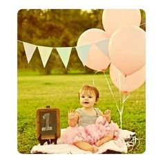 birthday photoshoot inspiration- good way to work the chalkboard in!