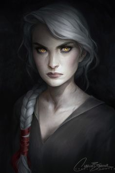 Manon Blackbeak by Charlie Bowater