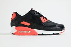 brand new b74da ba097 Nike - Air Max 90 Anniversary (Black  Infrared  White) Air Max 90