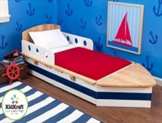 KIDKRAFT 'Båt/Boat' Barneseng. Frifrakt Kr 2049