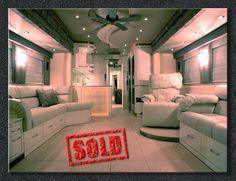 """Sanders"" 2003 Kingsley Coach  Custom RV Interior"