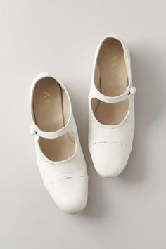 white mary-janes