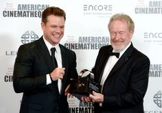 American Cinematheque Gala: Ridley Scott Matt Damon Bradley Cooper Hit the Red Carpet (Photos) 'The Martian' director was honored with the American Cinematheque Award at the annual benefit gala which took place at the Beverly Hilton Hotel on Friday night. Beverly Hilton, The Beverly, Matt Damon, Galas Photo, Ridley Scott, Bradley Cooper, The Martian, American, Awards
