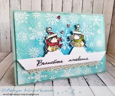 Christmas card или Из воробьев в пингвины