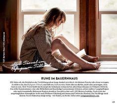 """#Wienerin, Ruhe im #Bauernhaus, #Osttirol #Refugium Tilliach, Bildquelle: """"Wienerin"""", stocksy.com Refugium, Sauna, Backless, Dresses, Fashion, Steam Bath, Recovery, Farm Cottage, Pictures"""