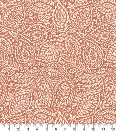 """Waverly Upholstery Fabric 57"""" Boutique Find Coral Coral Fabric, Paisley Fabric, Boutique Design, A Boutique, Fabric Decor, Fabric Design, Curtain Fabric, Waverly Fabric, Mandala"""
