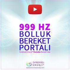 Bu video görsel ve işitsel olarak, 999 frekansı enerjilerle, bolluk ve bereket dinamiklerimizi tıkayan blokajları temizlemek, emeğimizin karşılığını hakkıyla çekebilmek ve enerjisel olarak titreşimlerimizi yükseltmek için yüklenmiştir.