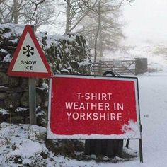 Snowing again!..Yorkshire Problems..