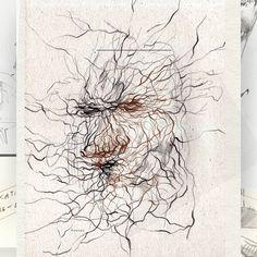 "28 Likes, 1 Comments - Eglė Uleckienė (@egleillustration) on Instagram: ""SKETCH*98 #doodle #draw #portrait #drawing #sketch #sketchbook #sketching #dailydrawing #dailydraw…"""