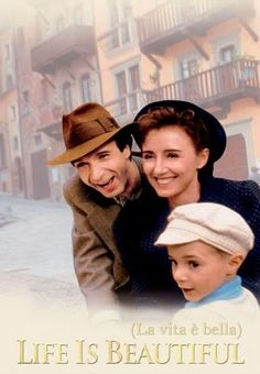 Life Is Beautiful - The best, funniest, and bitter sweet Holocaust movie I have ever seen!  This is one of my favorites now! Even the English dubbing did not take away from it and helped since I don't like reading subtitles.  Awesome movie!  Watch it!