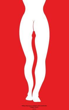 Cleopatra poster, Imagine Theatre, DE, 2013. d: Lex Drewinski
