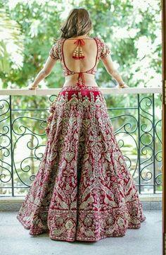 Press VISIT link above for more options Lehenga Choli Wedding, Party Wear Lehenga, Indian Wedding Outfits, Indian Outfits, Indian Clothes, Indian Bridal Couture, Modern Saree, Indian Dresses, Salwar Kameez