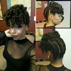 Trendy Crochet Braids Hairstyles Updo Flat Twist - Trendy Crochet Braids Hairstyles Updo Flat Twist Informations About - Natural Hair Twists, Pelo Natural, Natural Hair Updo, Natural Hair Journey, Natural Hair Styles, Crochet Braids Hairstyles, Braided Hairstyles, Cool Hairstyles, Protective Hairstyles