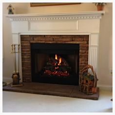 Fireplace Logs, Gas Logs, Hearth, Southern, American, Home Decor, Log Burner, Home, Decoration Home